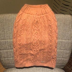 Pink pet sweater